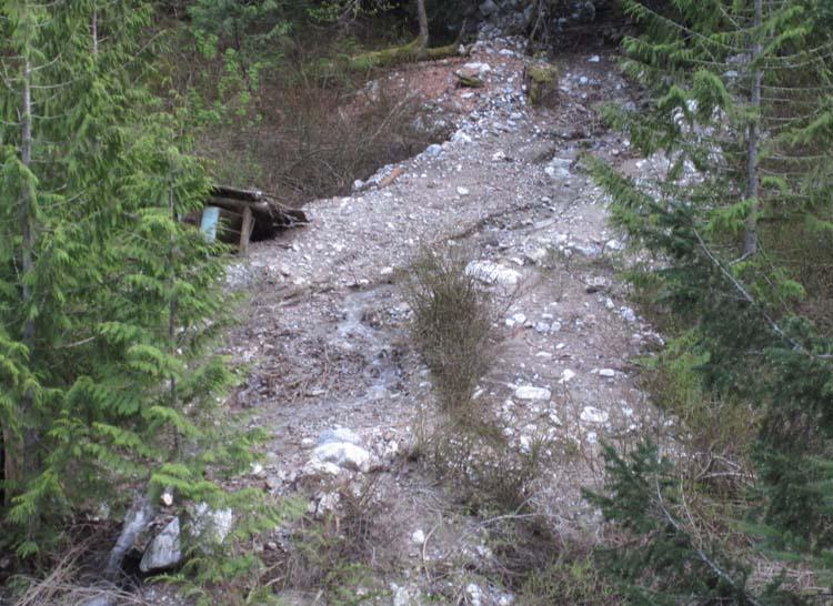 Vanishing B C  Camp Defiance on the Dewdney Trail