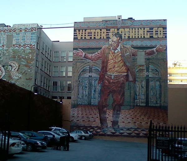 Los angeles snapshots michael kluckner for Anthony quinn mural
