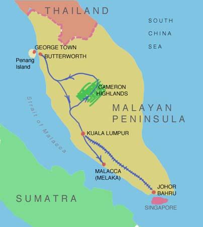 Michael Kluckner  Malaysia and Singapore